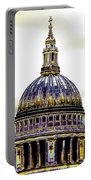 New Photographic Art Print For Sale   Iconic London St Paul's Cathedral Portable Battery Charger