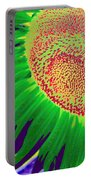 New Photographic Art Print For Sale Pop Art Sunflower 2 Portable Battery Charger