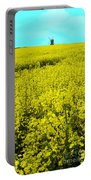 New Photographic Art Print For Sale Yellow English Fields 4 Portable Battery Charger