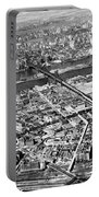 New York 1937 Aerial View  Portable Battery Charger