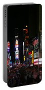 New York - Broadway And Times Square Portable Battery Charger