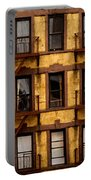 New York City Apartment Building Study Portable Battery Charger