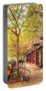 New York City - Autumn In The East Village  Portable Battery Charger