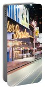New York City - Broadway Lights And Times Square Portable Battery Charger