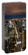 New York City By Night Portable Battery Charger