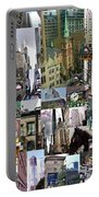 New York City Collage Portable Battery Charger