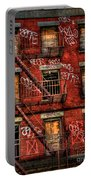 New York City Graffiti Building Portable Battery Charger
