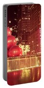 New York City Holiday Decorations Portable Battery Charger