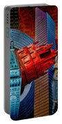 New York City Park Avenue Sculptures Reimagined Portable Battery Charger