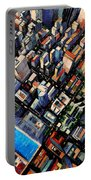 New York City Sky View Portable Battery Charger