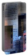 New York City Skyline No. 3 - City Blocks Series Portable Battery Charger