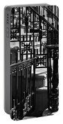 New York City Wrought Iron Portable Battery Charger by Rona Black