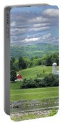 New York Farm Catskill Mountain Foothills Portable Battery Charger
