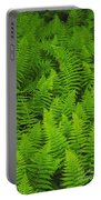 New York Ferns Portable Battery Charger