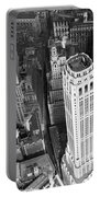 New York Financial District  Portable Battery Charger