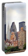 New York From Roosevelt Island Portable Battery Charger
