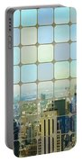 New York Golden Panorama Portable Battery Charger