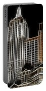 New York New York In Las Vegas Portable Battery Charger