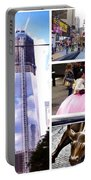 New York Nyc Collage Portable Battery Charger