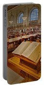 New York Public Library Rose Main Reading Room  Portable Battery Charger