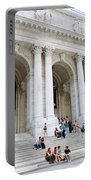 New York Public Library Portable Battery Charger