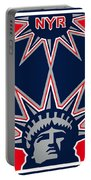 New York Rangers Portable Battery Charger