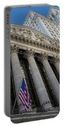 New York Stock Exchange Wall Street Nyse  Portable Battery Charger