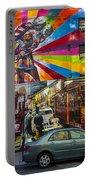 New York Street Scene Portable Battery Charger