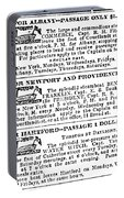 New York Sun, 1833 Portable Battery Charger