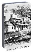 New York: Tavern, C1776 Portable Battery Charger