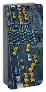New York Taxi Rush Hour Portable Battery Charger