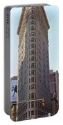 New York - The Flat Iron Building Portable Battery Charger