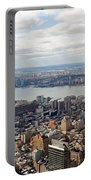 New York View Towards Jersey Portable Battery Charger