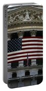 New York - Wall Street Panoramic Portable Battery Charger