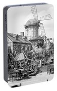 New York Windmill, C1905 Portable Battery Charger
