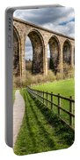 Newbridge Viaduct Portable Battery Charger by Adrian Evans