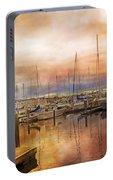 Newport Rhode Island Harbor I Portable Battery Charger