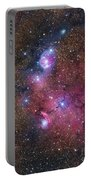 Ngc 6559 Emission And Reflection Portable Battery Charger