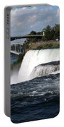 Niagara Falls Closeup And Observation Tower Portable Battery Charger