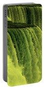Niagara Falls Closeup Hot Wax Effect Portable Battery Charger