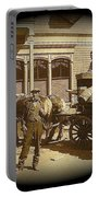 Niagra Carting Wagon Extras The Great White Hope Set Globe Arizona 1969-2014 Portable Battery Charger