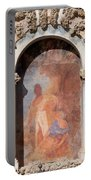 Niche Fresco In Real Alcazar Of Seville Portable Battery Charger
