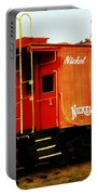 Nickel Plate Portable Battery Charger