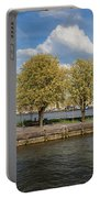 Nieuwe Maas River Waterfront In Rotterdam Portable Battery Charger