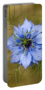 Nigella Damascena Portable Battery Charger