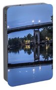 Night Bridge Portable Battery Charger by Nelson Watkins