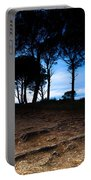 Night In The Forest Portable Battery Charger