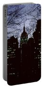Night Lights Empire State Two Trees Portable Battery Charger