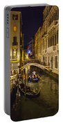 Night On The Canal - Venice - Italy Portable Battery Charger