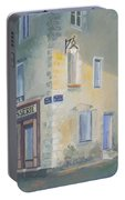 Night Scene In Arles France Portable Battery Charger